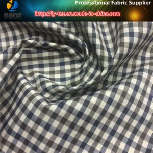 Polyester Yarn Dyed Gingham Check Fabric for Garment/Down Jacket (YD1173) pictures & photos