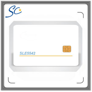 PVC Printed Sle4442/4428/5542/5528 Contact Chip Card pictures & photos