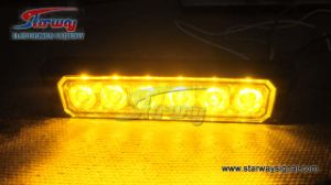 Warning Surface Mount Car LED Strobe Light / LED Grille Lightheads (LED216C) pictures & photos