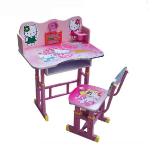 School Furniture Modern Adjustable Study Table Kids Student Desk (HX-SK003) pictures & photos