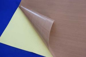 Teflon PTFE Coated Fiberglass Adhesive Tape pictures & photos