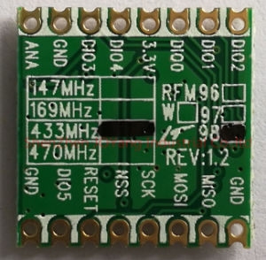 433/470MHz RF Transceiver Rfm98 RF Module for Home and Building Automation. pictures & photos