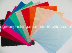 Microfiber Sunglasses Cleaning Cloth (100%polyester 170-180GSM) pictures & photos