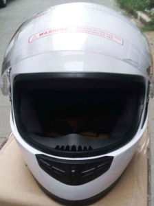 Police Type ABS Material Motorcycle Helmets for Rider pictures & photos