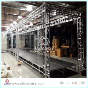Fashion Aluminum Mobile Stage Platform, Aluminum Folding Stage, Portable Wedding Stage pictures & photos