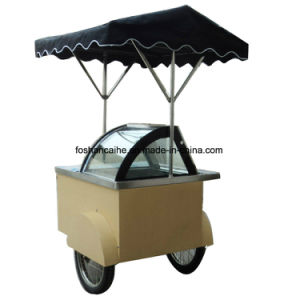 Ice Cream Cart Ce Approval pictures & photos