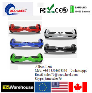 High Quality Smartek 6.5inch Electric Scooter 2 Two Wheel Smart Self Balance Electric Hoverboard Scooter pictures & photos
