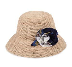 Raffia Big Brim Beach Hat for Women pictures & photos