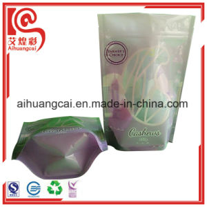 Printing Side Sealed Plastic Pouch Ziplock Bag for Nuts. pictures & photos
