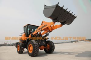Ensign Front Wheel Loader Model Yx636 with Joystick in Stock pictures & photos