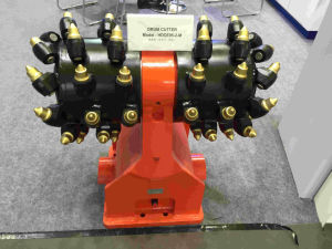 Hydraulic Rotary Dual Drum Cutter for The Roadheader pictures & photos