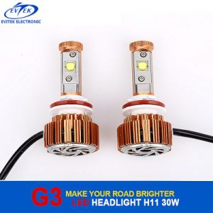 Automobile 30W CREE H11 LED Headlight 6000k, Car LED Headlight, LED Auto Headlight H1 H3 H7 H13 9005 9006 pictures & photos