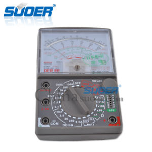 Low Price Digital Multimeter (DE-960TR) pictures & photos