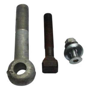 High-Strength Fastener Steel Bolt Screwed for Scaffold pictures & photos