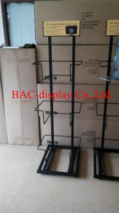 Direct Manufacturer Supply High Quality Canvas Bag Metal Display Shelf pictures & photos