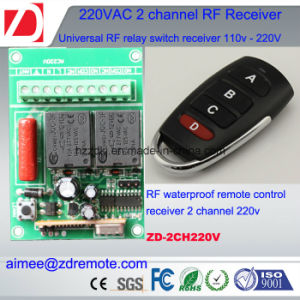 2channel 220V AC Wireless RF Receiver pictures & photos