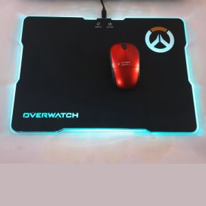 Custom Brand Logo Multifunctional USB Drive LED Light Gaming Mouse Pad pictures & photos
