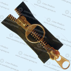 China Metal Zipper for Y Teeth Type (3#brass) - China Zipper, Metal Zipper pictures & photos