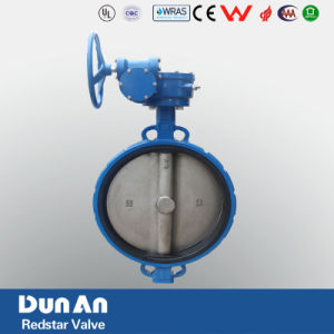 Butterfly Valves Wafer Type with Gear Box pictures & photos