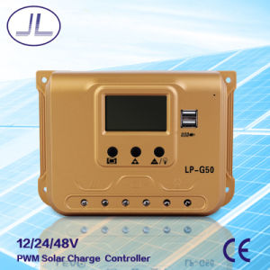 50A PWM Solar System Charge Controller pictures & photos