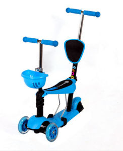 Front 2 Wheel Scooter, 5 in 1 Scooter, Push Kids Scooter with Seat for Children pictures & photos