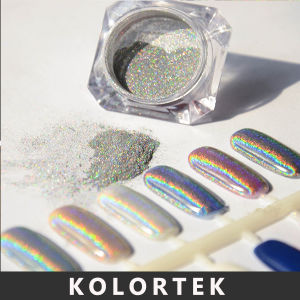 Hologram Nail Powder, Holographic Pigment Powder for Nail Polish pictures & photos