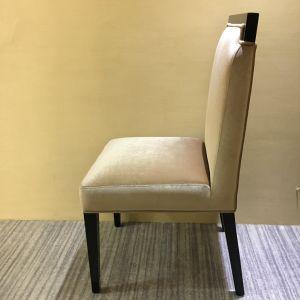 Modern Wooden Frame Velvet Seat Dining Chair for Restaurant Cafe Hotel pictures & photos