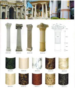 Natural Granite Marble Pillars Interior Decorative Pillars and Columns pictures & photos