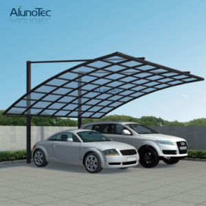 Economic Aluminum Canopy Single Carport Polycarbonate Roof pictures & photos