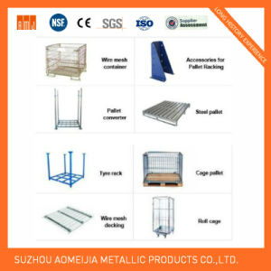 Wire Container Pallet Racking Accessory Pallet pictures & photos