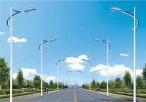 Solar Energy Product Ce CCC Certification Approved Die Casting Aluminium Solar Street Light