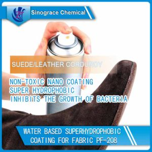 Water Based Superhydrophobic Coating for Fabric (PF-208) pictures & photos