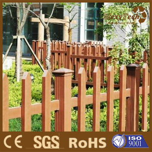 Composite Wood Garden Simple Picket Fence