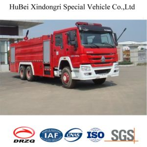 16ton Sinotruk HOWO Water Fire Fighting Truck Euro 4 pictures & photos