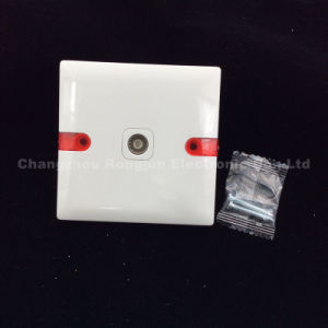 ABS Copper Material 1 Gang TV Socket (WS-TV) pictures & photos