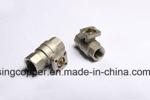 Ball Valve for Actuator with Mounting Pad pictures & photos
