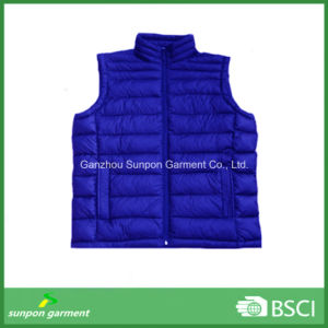Down-Like Padding Vest for Cold Winter Sleeveless Jacket Style pictures & photos