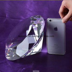 200mm Big White Color Crystal Glass Diamond for Home Decoration pictures & photos