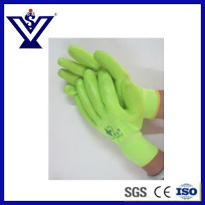Tactical Safety Working, PVC Cotton, Nylon Gloves (SYST06) pictures & photos