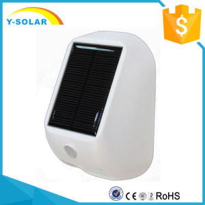 Bright Outdoor Wireless 4 LED Mini PIR Motion Sensor Solar Powered LED Lights SL1-36 pictures & photos