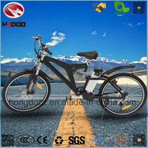 Wholesale 6 Speed Electric Mountain Bicycle with Hydraulic Suspension pictures & photos