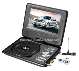 7 Inch USB SD TV Portable DVD Player pictures & photos