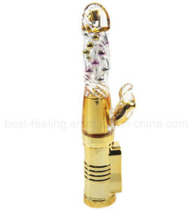 Wholesale Female Crystal Massager G-Spot Vibrator pictures & photos