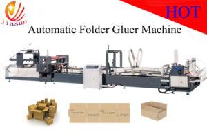 Automatic Folding Carton Box Gluing Machine (JHX-2000) pictures & photos