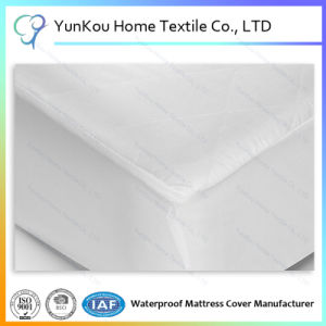 Twin Size 80%Cotton Terry Waterproof Mattress Protector pictures & photos