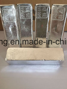 High Purity Indium Ingot 99.9999% 99.99999% Silver Grey Color pictures & photos