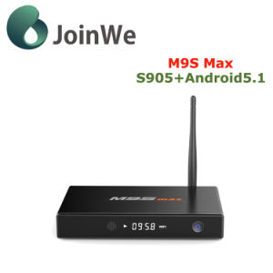 Smart M9s Max Amlogic S905 Google Android 5.1 TV Box pictures & photos