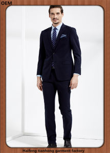 Custom Made Men Business Wool Suit