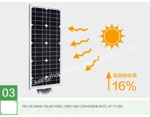 Guangzhou Factory 15W All in One Solar Street Light pictures & photos