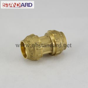Brass PE Equal Straight Coupling pictures & photos